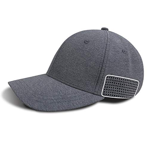 Baleaf Athletic Baseball Fitted Cap Classic Dad Hat Low Profile Adjustable Grey