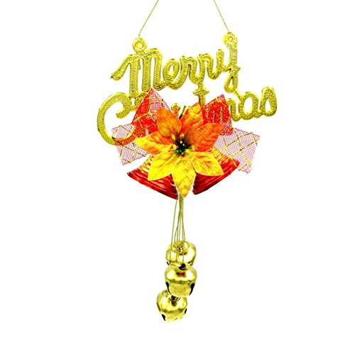 [YJ Romantic Charming Festive Bells Plating Multicolor Door Hanger Ornament] (Homemade Reindeer Costumes For Kids)