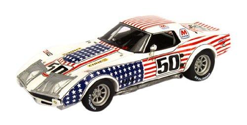 1/43 1971 シボレー コルベット デイトナ24h グリーンウッド #50 (星条旗カラー) TSM104324