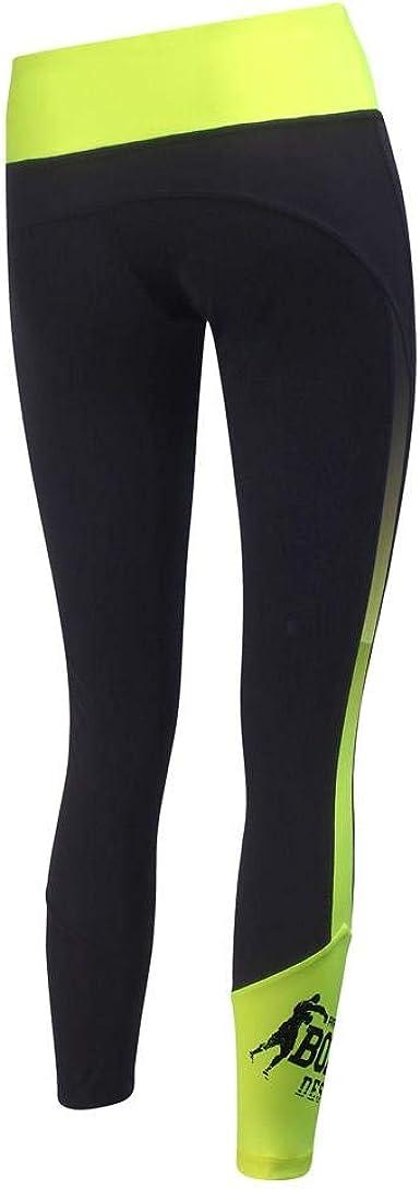 Leggings con Dettagli in Colore A Contrasto Donna BOXEUR DES RUES Serie Fight Activewear