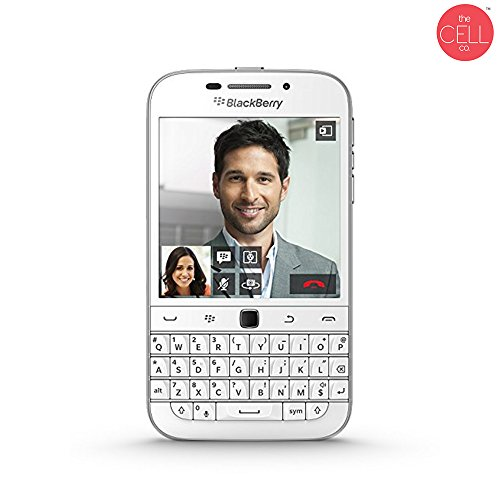 BlackBerry Classic Q20 SQC100-1 Unlocked White International Version 4G LTE (Refurbished) ()