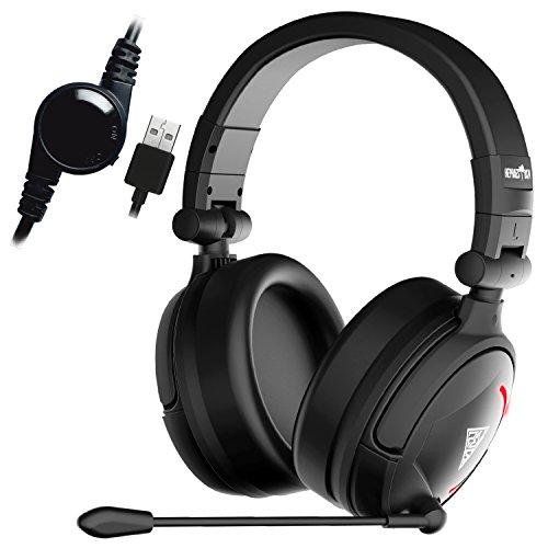 - GAMDIAS Hephaestus V2 Stereo Lighting Wired Gaming Headset Model GHS-3500