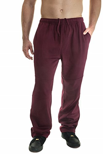 Alkii Mens Ankle Zipper Training Mesh Pants With Pockets