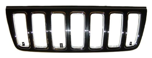 OE Replacement Jeep Cherokee//Wagoneer Grille Assembly Partslink Number CH1200265 Unknown