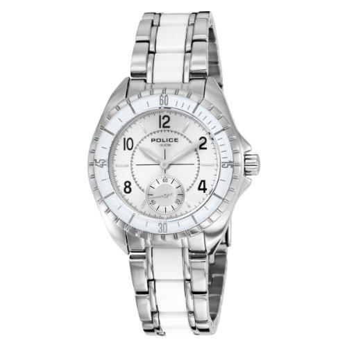 Police Women's PL-12207MS/04M Navy III Stainless-Steel Bracelet Watch