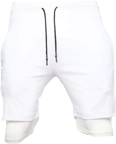 MXJEEIO💖Pantalones Cortos para Hombre Cargo Shorts Chinos Bermuda ...