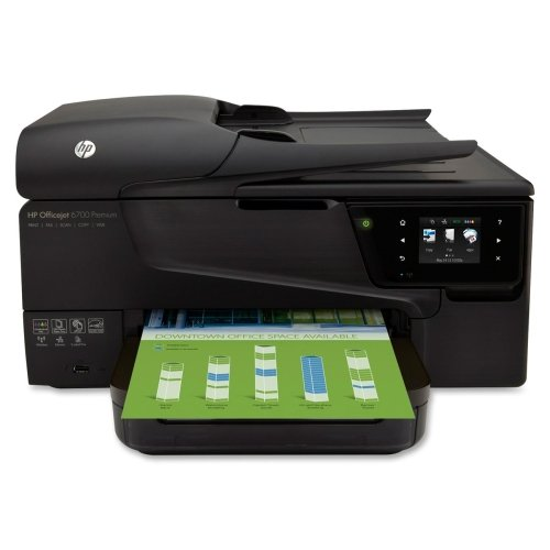HP Officejet 6700 H711N Inkjet Multifunction Printer - Color - Photo Print - Desktop - Copier/Fax/Printer/Scanner - 16 ppm Mono/9 ppm Color Print - 16 ppm Mono/9 ppm Color Print (Mono 16 Ppm Colour)