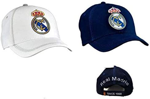 Real Madrid Gorra, Unisex niños, Multicolor, Talla Única: Amazon ...