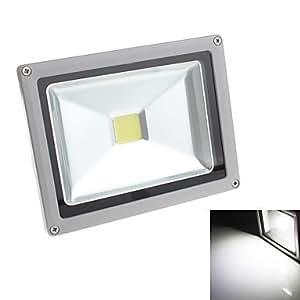 Leedfsw 20W 1800LM 6000-6500K 1xCOB LED White Light Floodlight (85-265V)