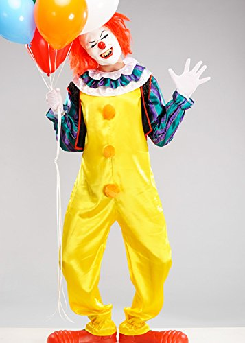 Std. (up to a 44\ MagicBox Adult Mens Halloween It Clown Pennywise Costume Std. (up to a 44  chest)