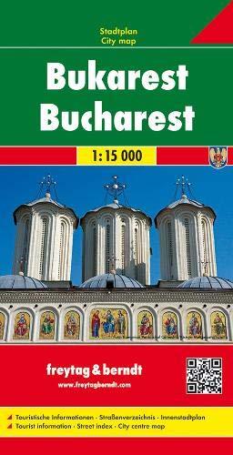 Bucharest (City Map) FB (ROMANIA) (English and German Edition)