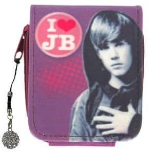 Justin Bieber Mini Monedero I Love Justin con colgante