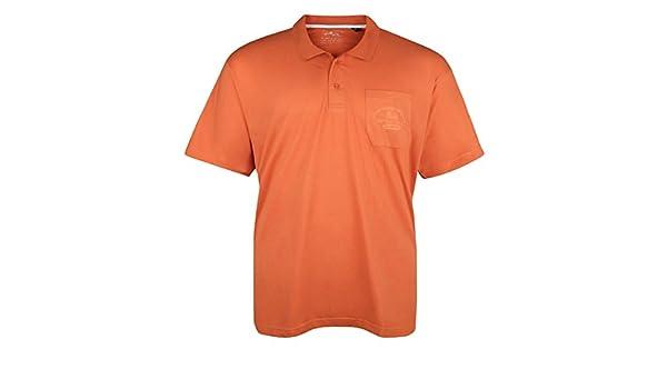 Lucky Star Polo Naranja Bolsillo de Pecho Oversize, 2xl-8xl:2XL ...