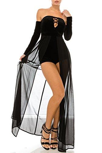 long black goddess dress - 8