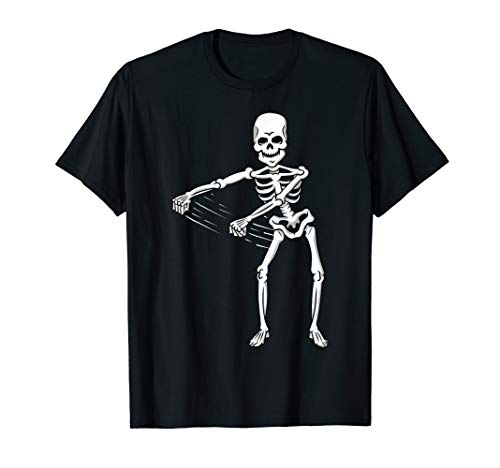Dancing Skeleton Halloween T-Shirt Flossing Floss Dance
