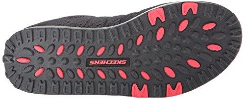 Skechers Femmes Shape Up 2.0 Mode Sneaker Charbon De Bois / Rose