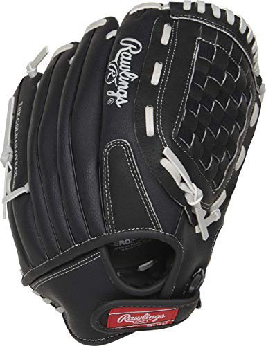 Rawlings Softball Series Glove, Basket Web, 12.5 inch, Right Hand Throw