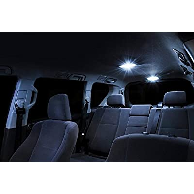 XtremeVision Interior LED for Acura MDX 2007-2013 (13 Pieces) Cool White Interior LED Kit + Installation Tool: Automotive