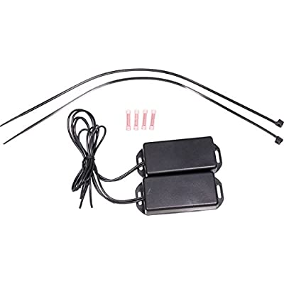 APDTY 27389 EBM Electronic Suspension Autoride Bypass Module Fits Select 2000-2014 Escalade Avalanche Suburban Tahoe Yukon (Allows Bypass Of The Auto Dampening Shocks; Turns Off Suspension Light): Automotive