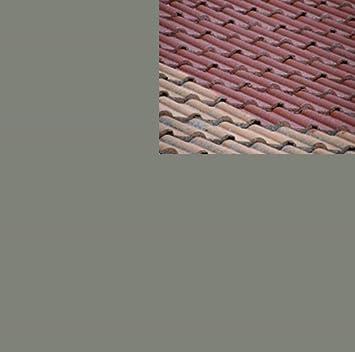 Nice 1L Ziegelfarbe Dachfarbe Dachbeschichtung Dachversiegelung In Betongrau  Dachrenovierung Metalldach Blechdach Flachdach Farbe Beschichtung Anstrich  Ziegel ...