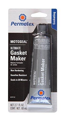 Permatex 29132 6 Pack 2.7 oz. MotoSeal 1 Ultimate Gasket Maker, Grey