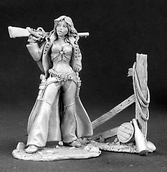Ellen Stone Cowgirl Master Series Miniature Figures