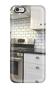 Hot Tpu Shockproof Scratcheproof Modern Kitchen With White Subway Tile Backsplash Hard Case Cover For Iphone 6 Plus WANGJING JINDA