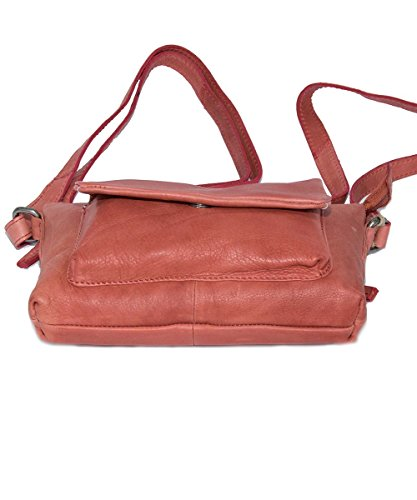 Spikes & Sparrows, Borsa a tracolla donna rosso rot