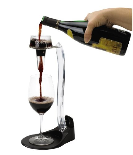 Oster FPSTBW0018 Deluxe Wine Set, includes Deluxe Wine Opener, Aerator with Stand and Accessories