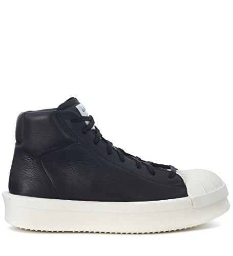 adidas Rick Owens Mens RO Mastodon Promodel Leather Sneaker Black