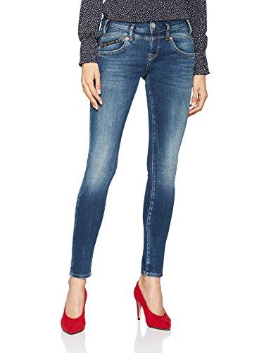vintage Slim Donna 754032 Pearl Blau Jeans Herrlicher wqEvFXx