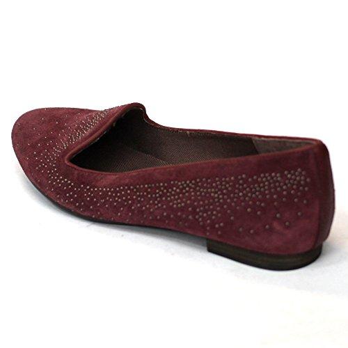 Lucky Brand flach Slipper UK Größe 3,5 Rot