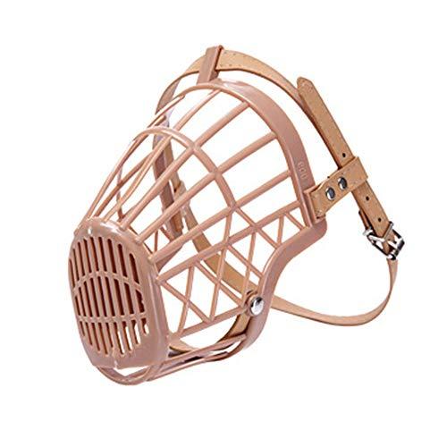 Dog Muzzle Basket Anti-Biting Mouth Cover Dog Adjustable Straps Mask