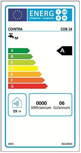 Cointra optima - Calentador gas optima cob 14-p interior 14l gas butano clase de eficiencia energ: Amazon.es: Bricolaje y herramientas