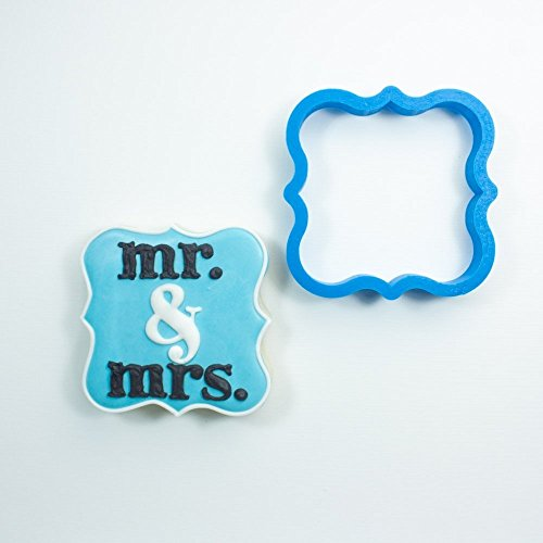 Frosted Cookie Cutters Fancy Square Cookie Cutter (Mini - 1.5 in)