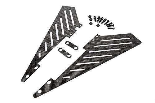 - Part & Accessories 1/5 scale rc baja parts baja 5B carbon fiber side rail FOR HPI KM ROVAN