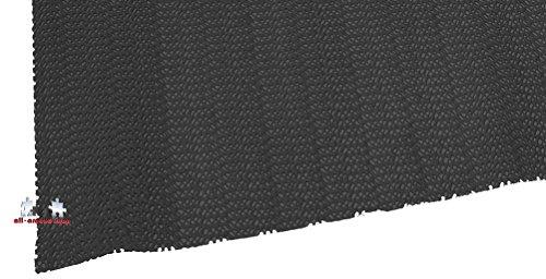 Antirutschmatte zuschneidbar Kofferraummatte all-around24® Schmutzfangmatte 150x30, Schwarz