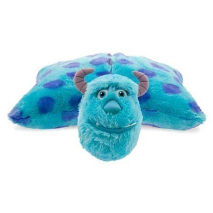 Disney Park Sulley from Monsters Inc Pillow Pal Plush Pet Doll (Sully Monsters)