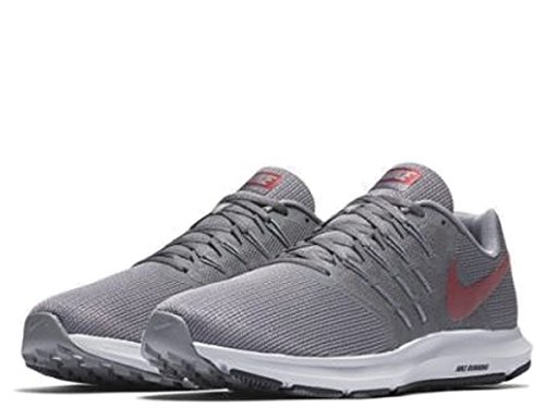 NIKE Team Swift Run 012 Grigio Uomo Whi da Grey Dk Grey Cool Red Scarpe Running gg4rq