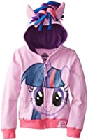 My Little Pony Girls' Twilight Sparkle Hoodie and Hoodie/Tee Bundle