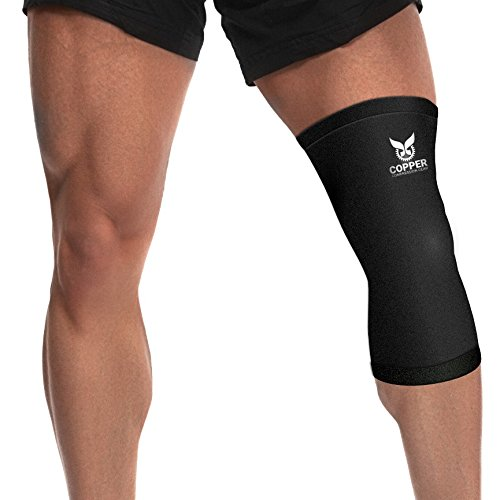 Copper Recovery Knee Sleeve Brace product image