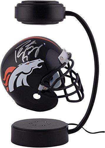 Peyton Manning Denver Broncos Autographed Hover Mini Helmet - Fanatics Authentic Certified - Autographed NFL Mini Helmets