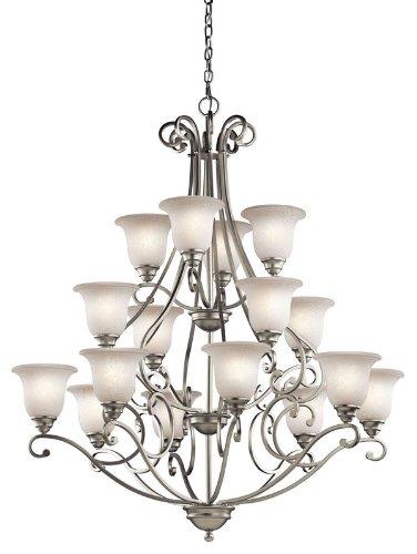 Kichler 43234ni camerena chandelier 16 light brushed nickel kichler 43234ni camerena chandelier 16 light brushed nickel aloadofball Images