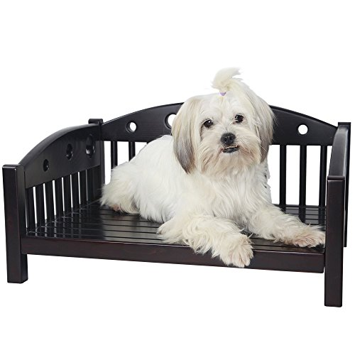 "Petsfit 24"" Lx18 Wx11 H Pet Bed Small Pet Sofa Furniture For Indoor Use, For Cat or Small Dog"