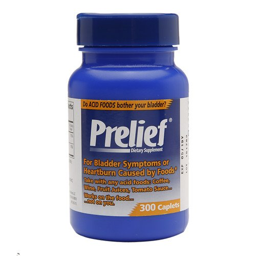 (Prelief Acid Reducer Dietary Supplement -300 Caplets (Pack of 2) )