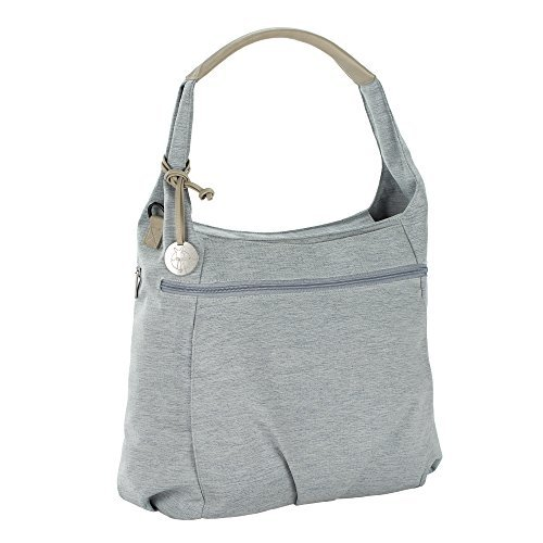 Lassig Women's Green Label Hobo Baby Diaper Bag Grey [並行輸入品] B07FDWXTJN