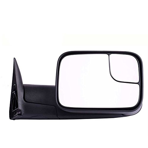 DEDC Dodge Tow Mirrors Dodge Ram 1500 2500 3500 Towing Mirrors Right Passengers Side Manual Folding With Support Brackets For 1994-2002 Dodge Ram 1500 2500 (Dodge Ram Tow Mirror)
