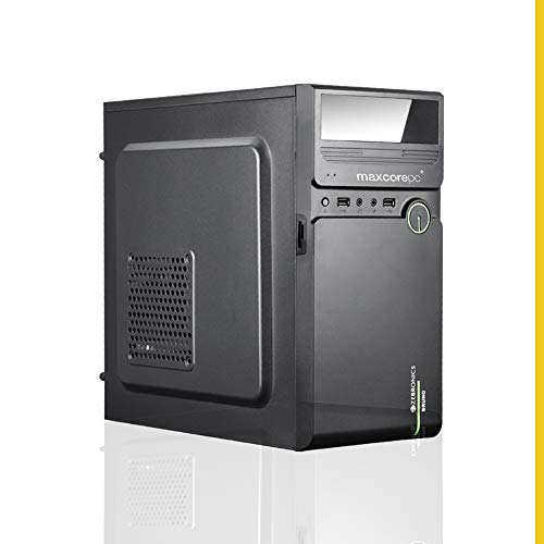 MAXCOREPC Speed MT5815 Intel Core i5 650 3.2Ghz Assembled Desktop PC CPU (8GB RAM/120GB SSD/500 GB HDD/WiFi Ready/HDMI/Windows 10 Pro/Black)