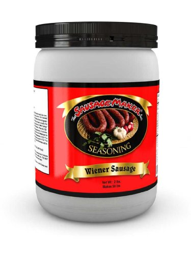 Hot Dog Jerky - TSM Wiener/Hot Dog Seasoning, 2 lbs.