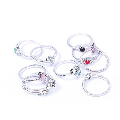 Woman-Wholesale-Lots-10PCS-Fashion-Sterling-Silver-Plated-Mixed-Design-Ring-Set-02